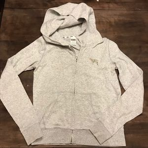 Victoria's Secret Pink zip up hoodie